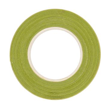Floral Crepe Tape - Light Green - The Village Haberdashery