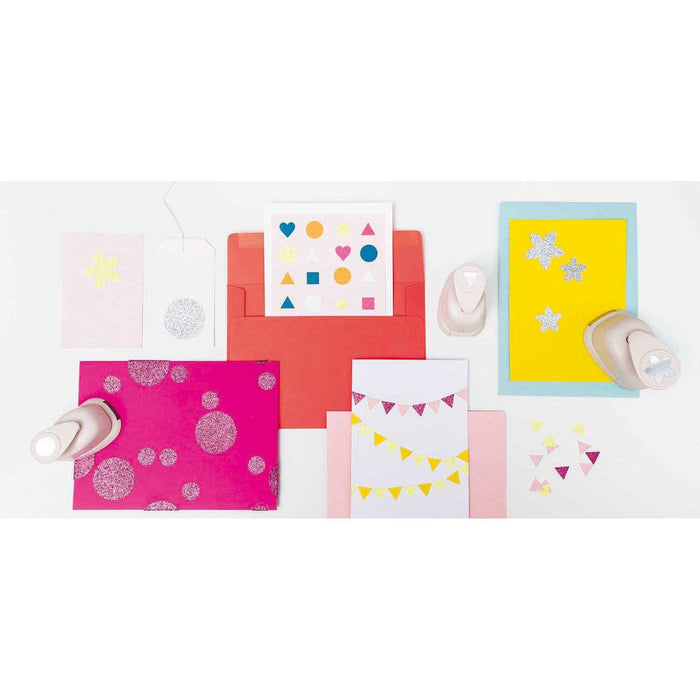 Glitter Paper Pad - Candy Mix - The Village Haberdashery