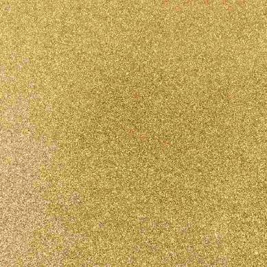 Iron-On Glitter Sheet - Gold - The Village Haberdashery
