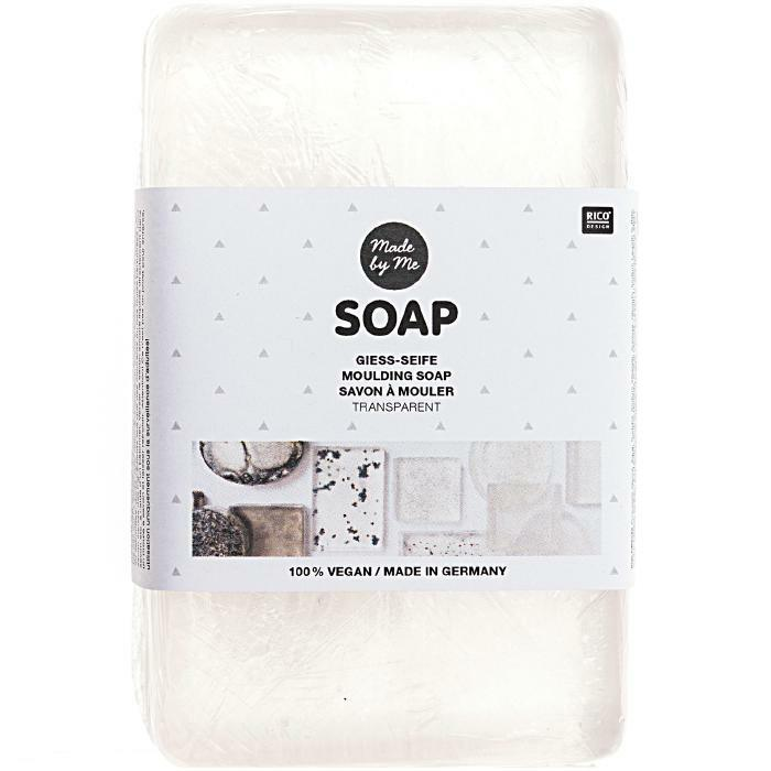 Melt and Pour Transparent Soap Base - 250g - The Village Haberdashery
