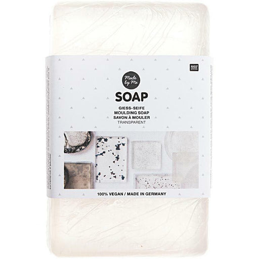 Melt and Pour Transparent Soap Base - 500g - The Village Haberdashery