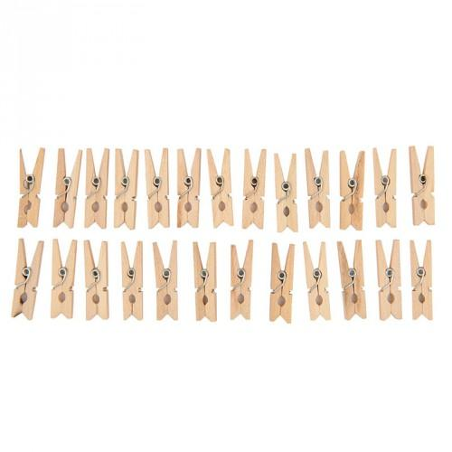 Mini Clothespins - The Village Haberdashery