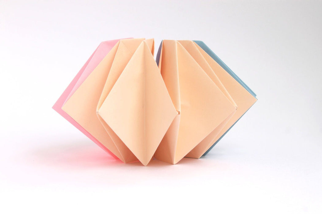 Origami Firework Kit - Peach - The Village Haberdashery