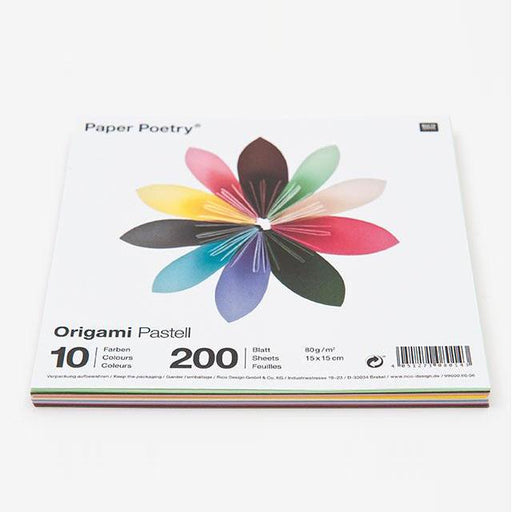 Origami Papers - Pastels - The Village Haberdashery
