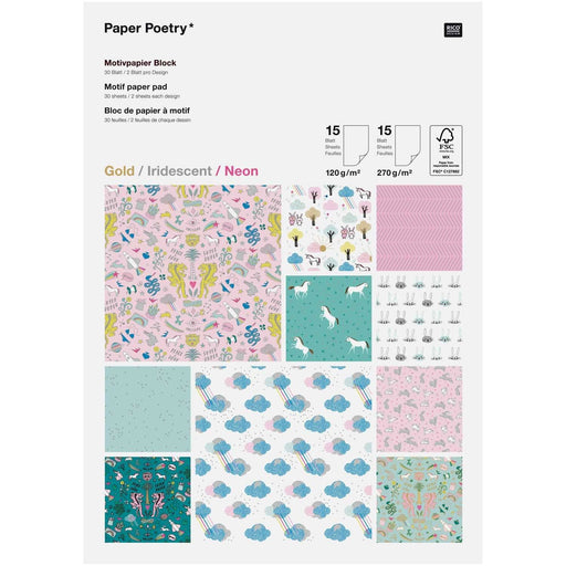Paper Pad - Wonderland - The Village Haberdashery