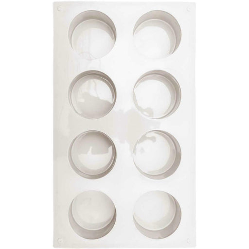 Silicone Soap Mould - Round - The Village Haberdashery