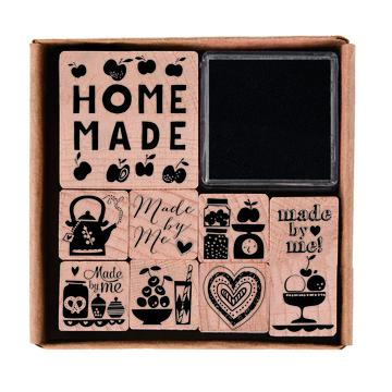 Stamp and Ink Set - Homemade - The Village Haberdashery