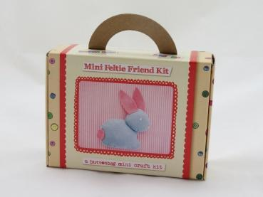 Buttonbag Mini Feltie Friend Kit - Bunny - The Village Haberdashery