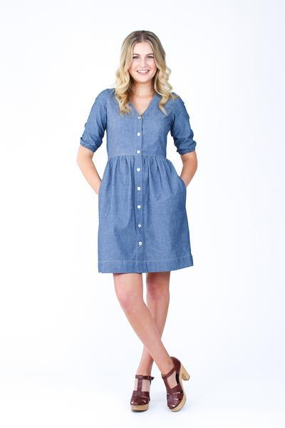 Megan Nielsen - Darling Ranges Dress - The Village Haberdashery