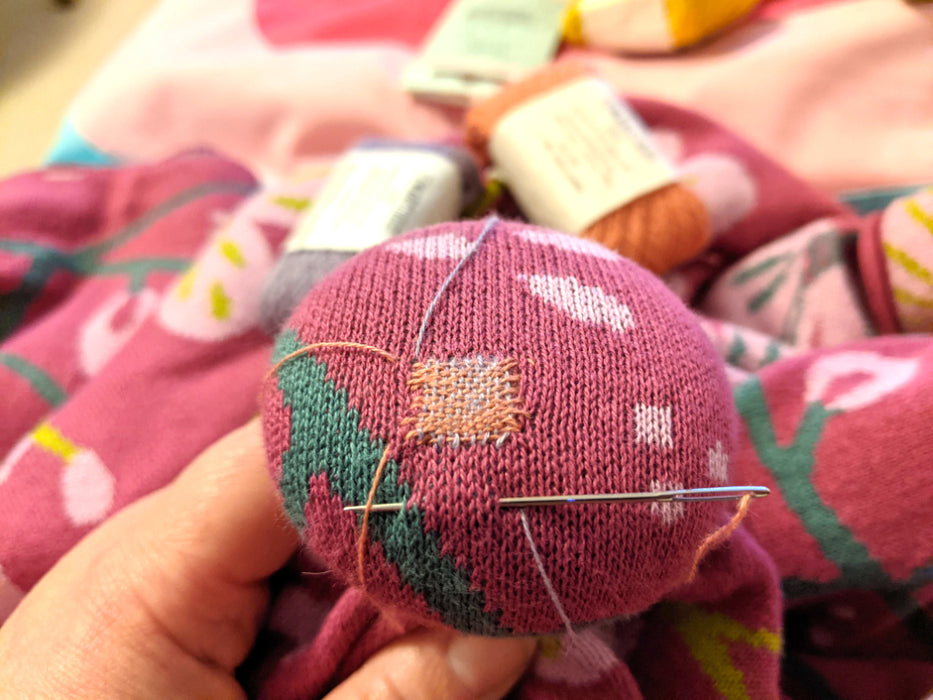 Darning Your Knits with Carina Envoldsen-Harris - The Village Haberdashery