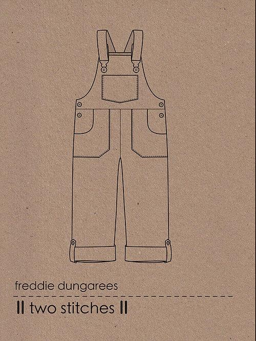 Two Stitches - Freddie Dungarees - The Village Haberdashery