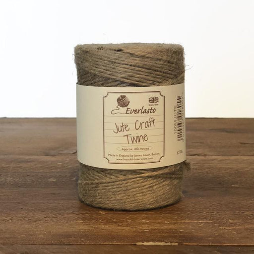 Everlasto Natural Jute Twine - The Village Haberdashery