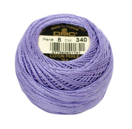 DMC Perle Cotton #8 - 340 - The Village Haberdashery