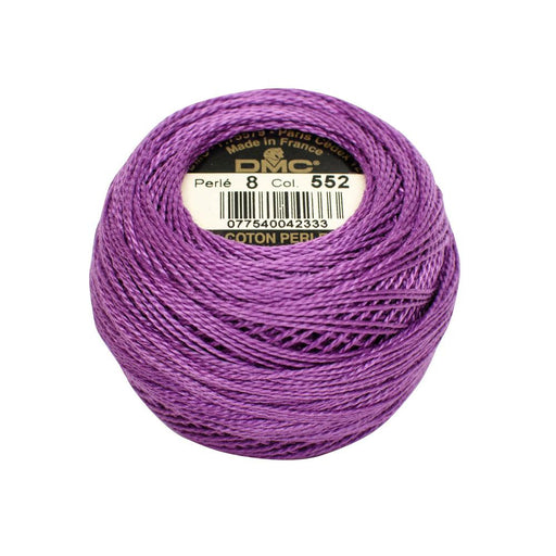 DMC Perle Cotton #8 - 552 - The Village Haberdashery
