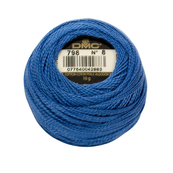 DMC Perle Cotton #8 - 798 - The Village Haberdashery
