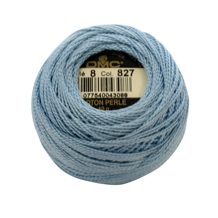DMC Perle Cotton #8 - 827 - The Village Haberdashery