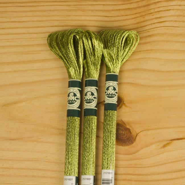 DMC Satin Embroidery Floss - S472 - The Village Haberdashery