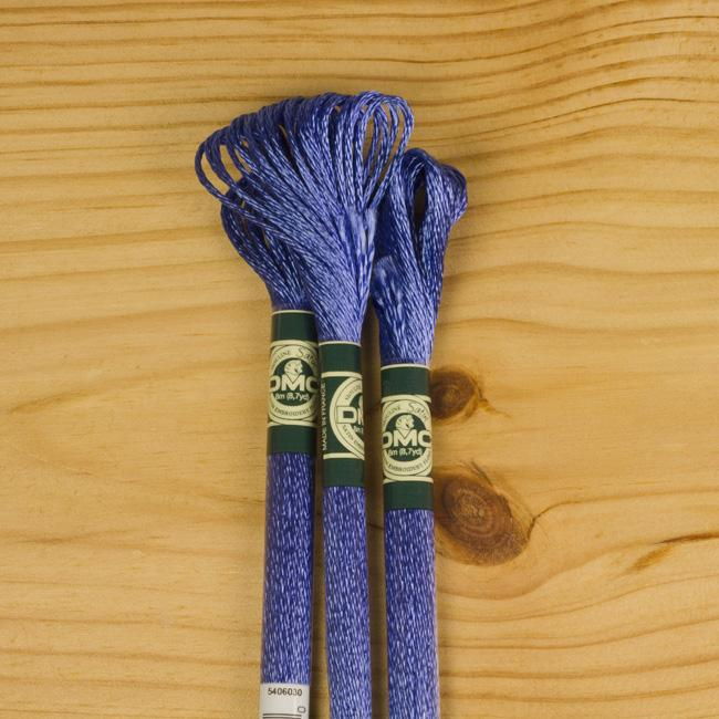 DMC Satin Embroidery Floss - S798 - The Village Haberdashery