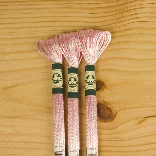 DMC Satin Embroidery Floss - S818 - The Village Haberdashery