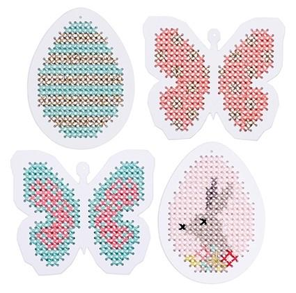 Embroidery Card - Easter - The Village Haberdashery