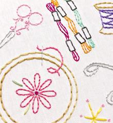 Sublime Stitching Embroidery Pattern - Craftopia - The Village Haberdashery