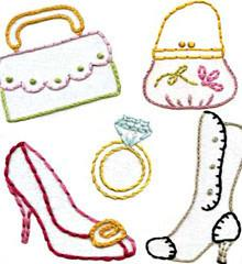 Sublime Stitching Embroidery Pattern - Dress Up - The Village Haberdashery