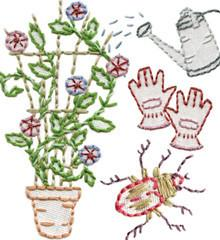 Sublime Stitching Embroidery Pattern - Garden Variety - The Village Haberdashery