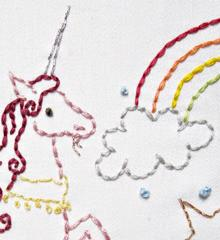 Sublime Stitching Embroidery Pattern - Unicorn Believer - The Village Haberdashery