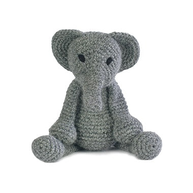 TOFT Crochet Amigurumi Kit: Bridget the Elephant - The Village Haberdashery