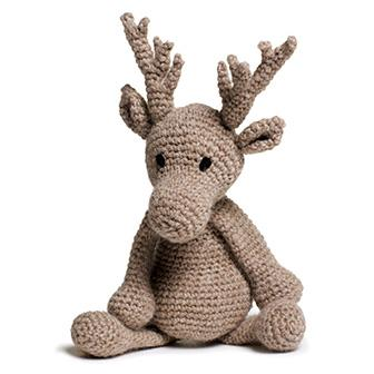 TOFT Crochet Amigurumi Kit: Donna the Reindeer - The Village Haberdashery