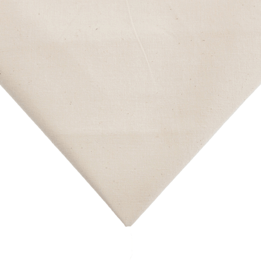 Calico - Unbleached- 60cm Remnant (Flawed) - The Village Haberdashery