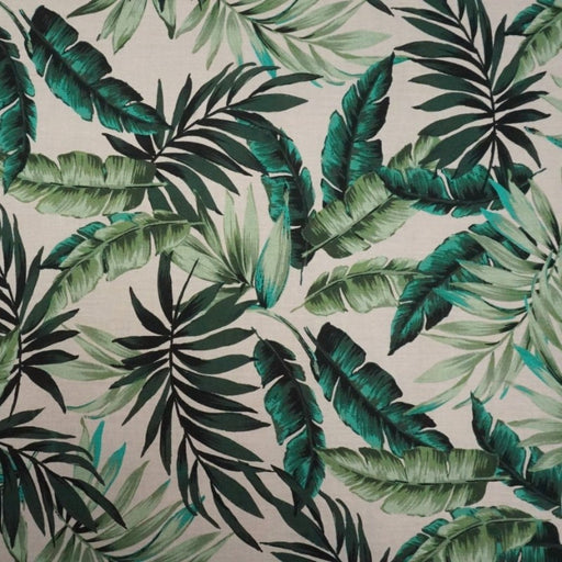 Cotton Lawn - Leafy Tropics - The Village Haberdashery