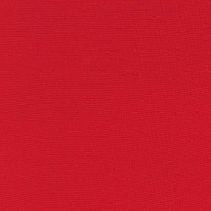 Kona Cotton Solids - Poppy - The Village Haberdashery