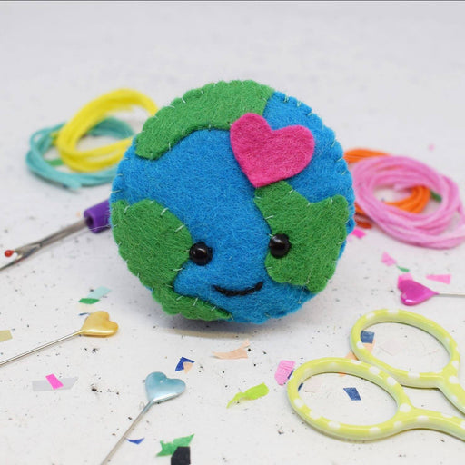 The Make Arcade Felt Sewing Kit - Earth - The Village Haberdashery