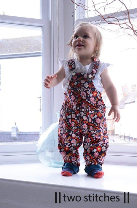Two Stitches - Frankie Dungarees - The Village Haberdashery