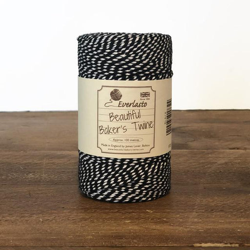 Everlasto Baker's Twine - Black - The Village Haberdashery