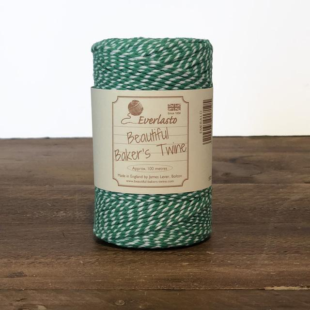 Everlasto Baker's Twine - Emerald - The Village Haberdashery