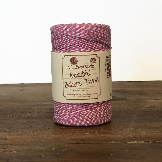 Everlasto Baker's Twine - Fuchsia - The Village Haberdashery