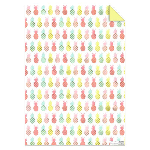 Gift Wrap - Pineapples - The Village Haberdashery