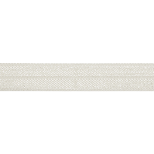 Fold Over Elastic - Ivory, 16mm - The Village Haberdashery