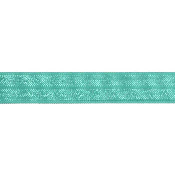 Fold Over Elastic - Teal, 16mm - The Village Haberdashery