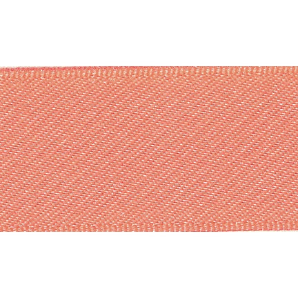 Satin Ribbon - Fluorescent Orange - 15mm - The Village Haberdashery