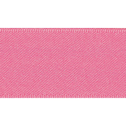 Satin Ribbon - Fluorescent Pink - 15mm - The Village Haberdashery