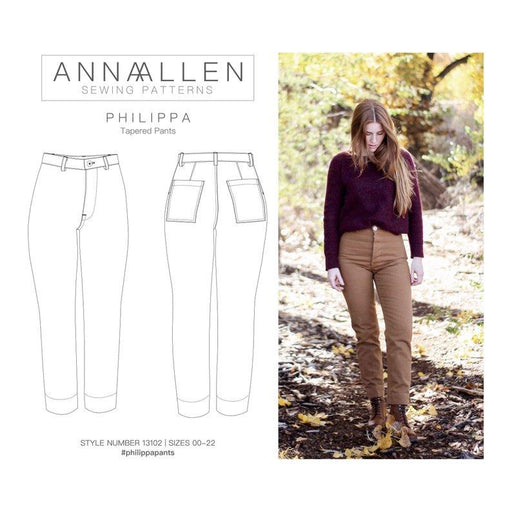 AnnaAllen - Philippa Pants - PDF - The Village Haberdashery