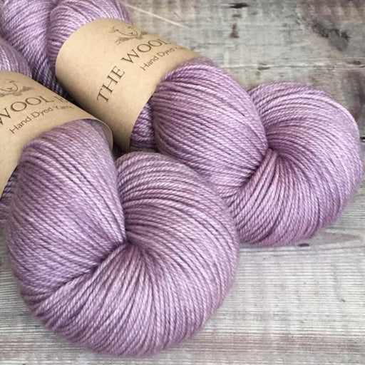 The Wool Barn - Cashmere Sock - Lilac Petals - The Village Haberdashery