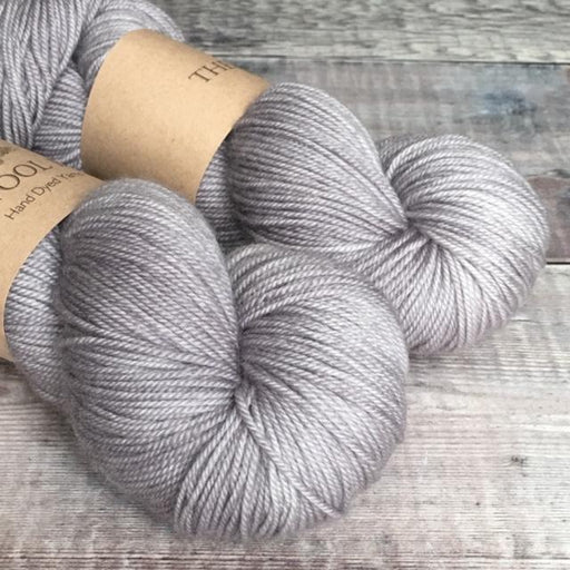 The Wool Barn - Cashmere Sock - Mid Grey - The Village Haberdashery