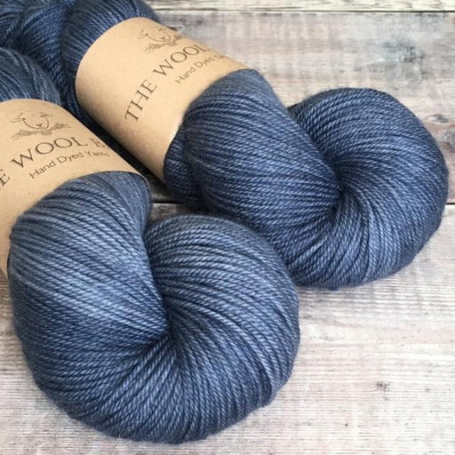 The Wool Barn - Cashmere Sock - Denim - The Village Haberdashery