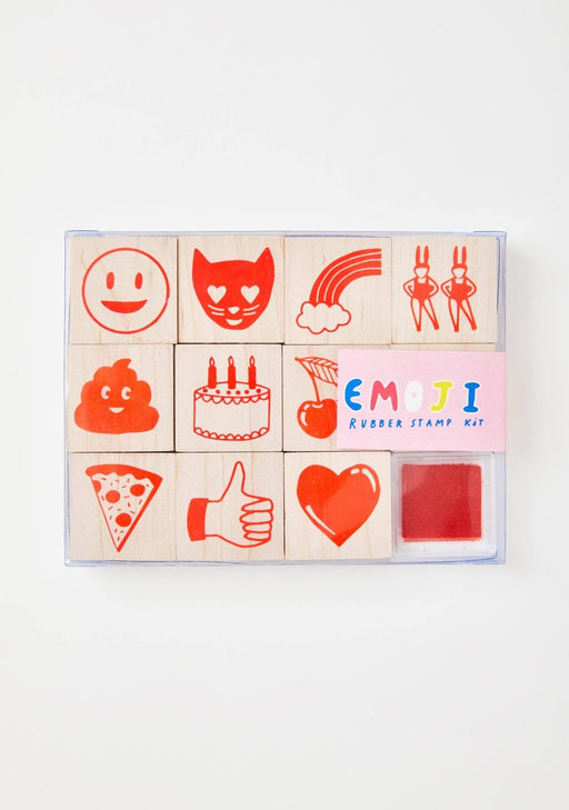 Yellow Owl Workshop - Emoji Stamp Set - The Village Haberdashery