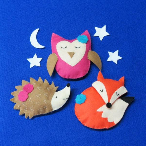 Sleepy Friends Key Ring Sewing Kit - The Village Haberdashery