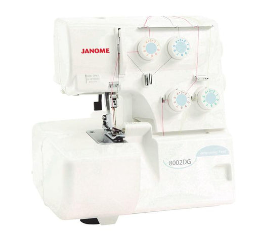 Janome 8002DG Overlocker - The Village Haberdashery